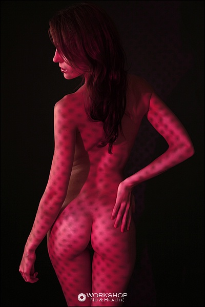 photo stage atelier workshop body light projection